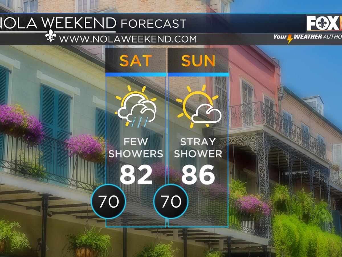 Zack: Few showers this weekend; crisp fall air next week