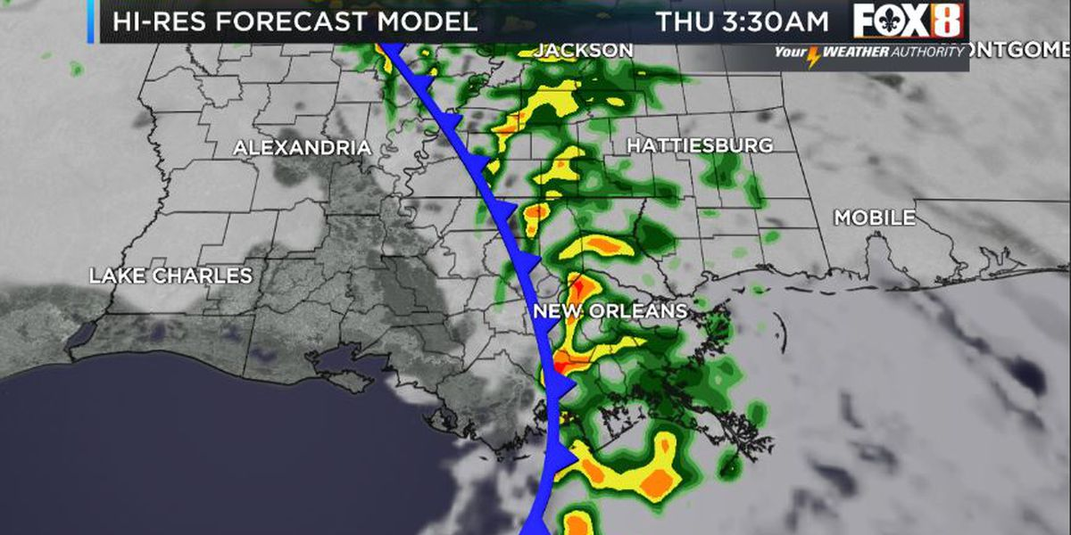Bruce: Clouds Increase-Rain Likely Tonight Then Much Colder
