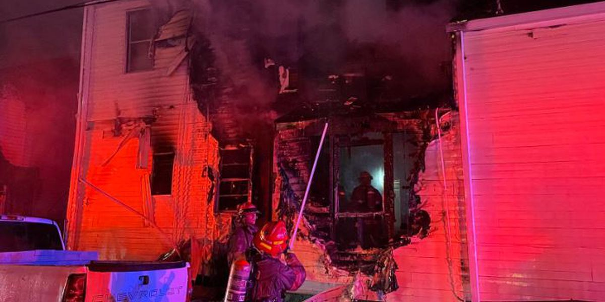 12 people displaced from 3-alarm fire in Central City