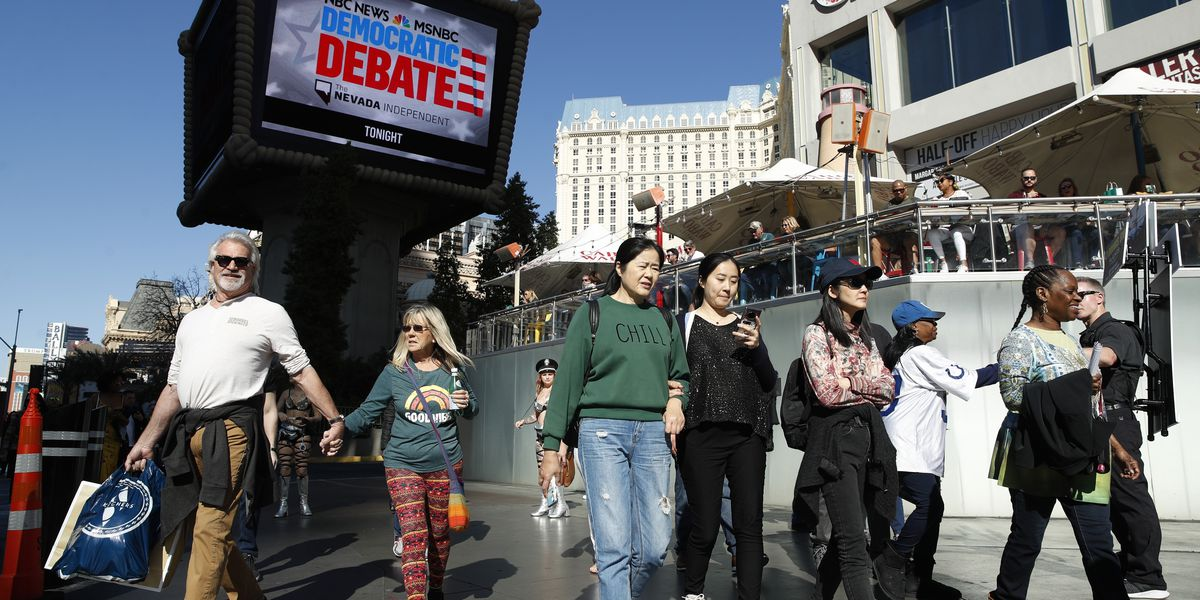 Voting underway as Nevada Democrats weigh in on 2020 fight