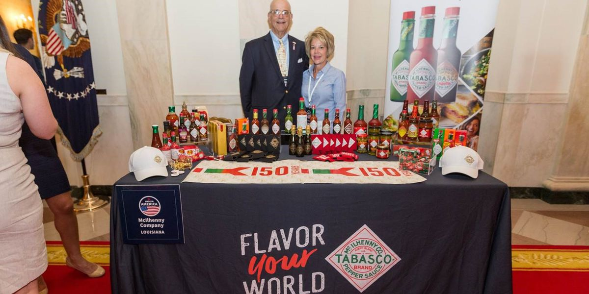 Makers of Tabasco visit White House for Made in America Product Showcase