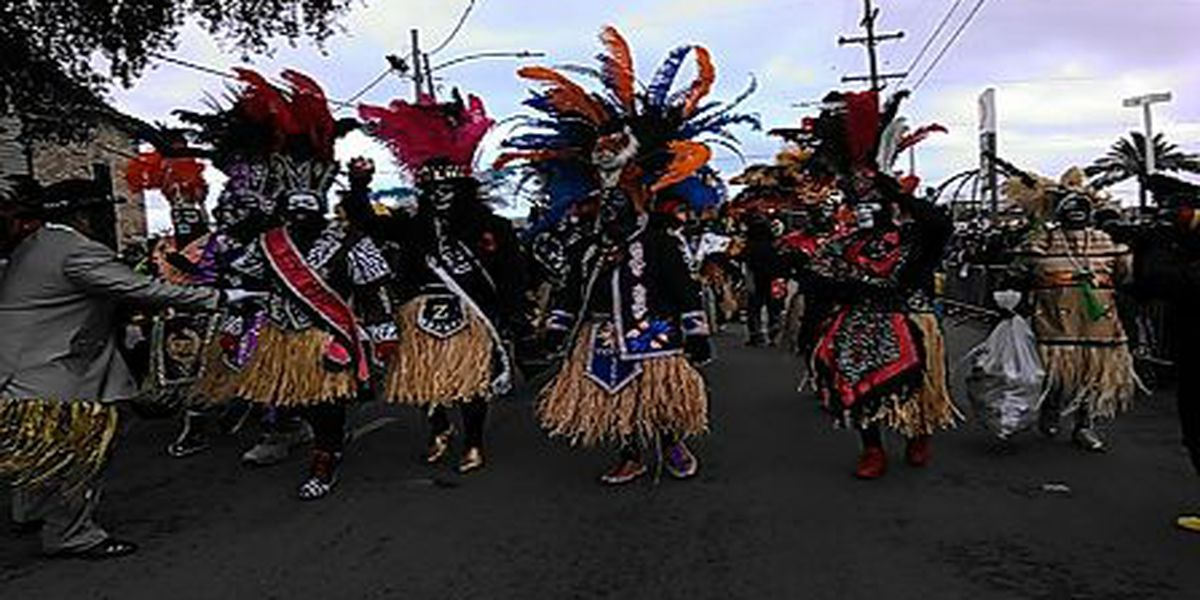 Zulu warms freezing revelers early on Fat Tuesday