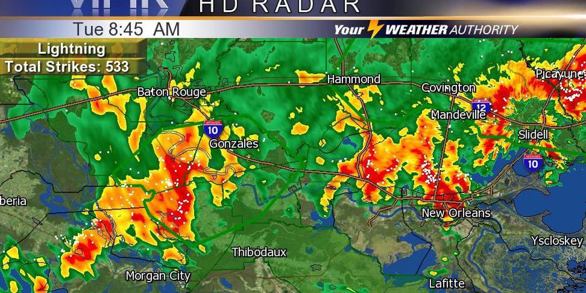 Flash Flood Warning issued for parts of the River Parishes: Open in app for details