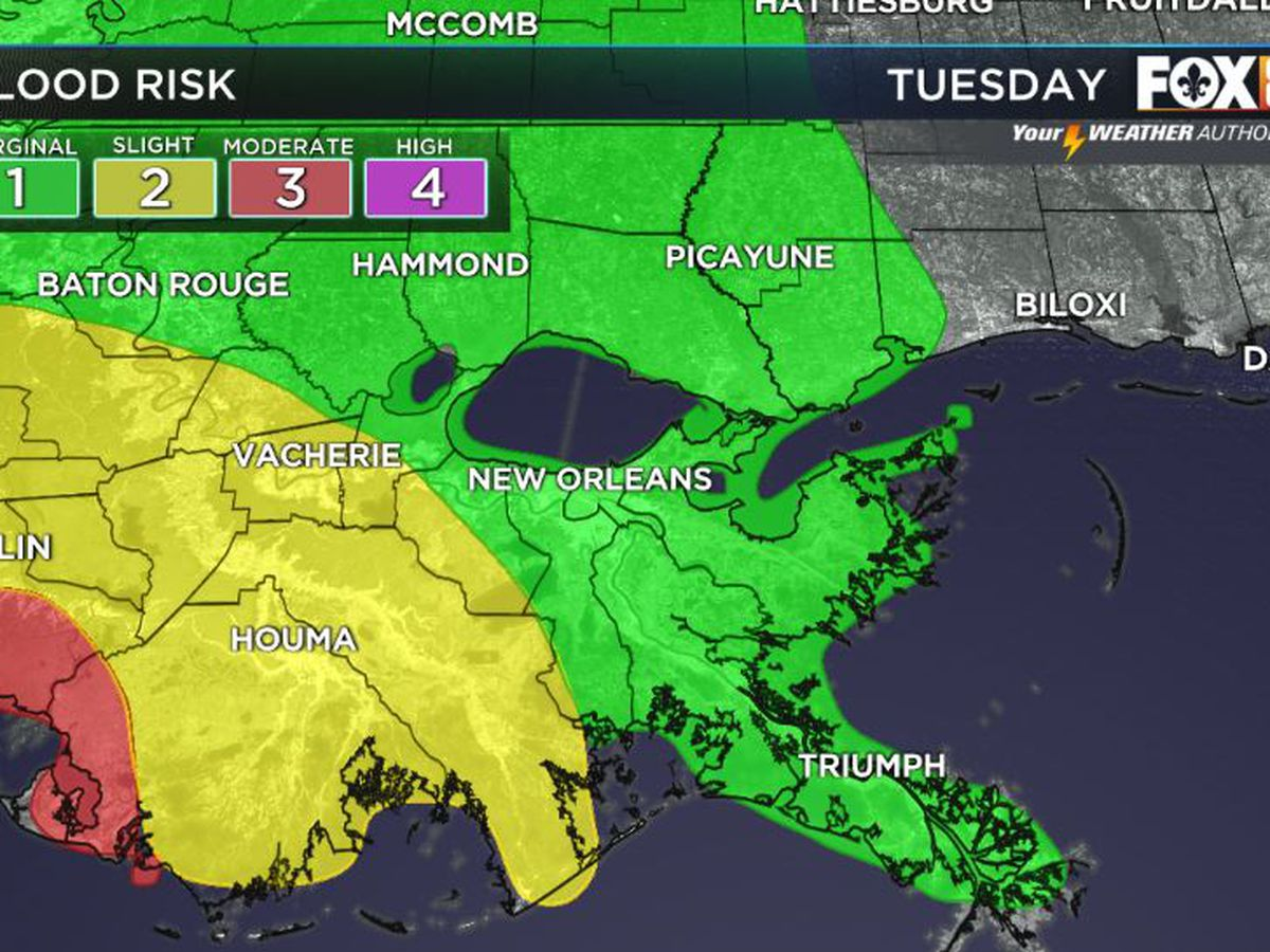 Autumn officially begins, but a flash flood watch remains thanks to TS Beta