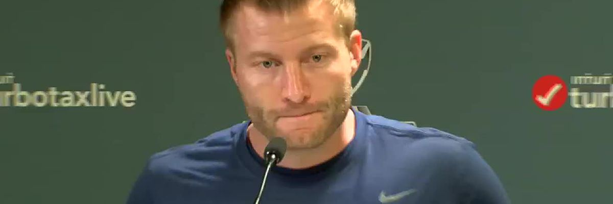 "Rams HC Sean McVay said ""it was all in good fun"" with Peters and Payton gumbo comments"