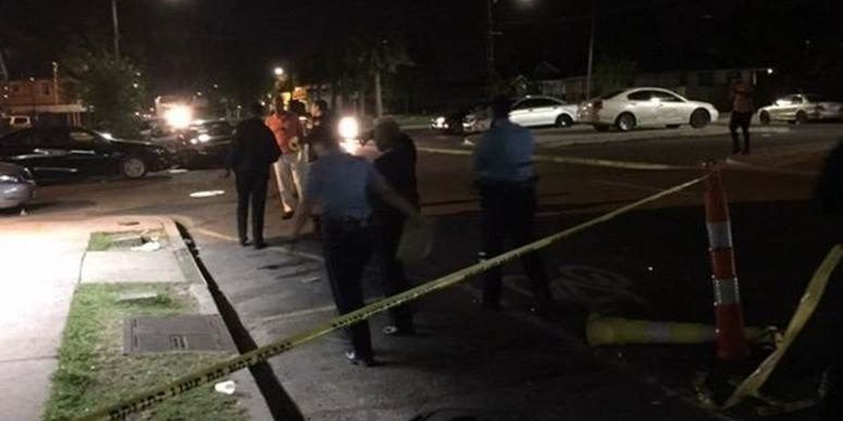 Four people shot in two shootings overnight in the Lower 9th Ward