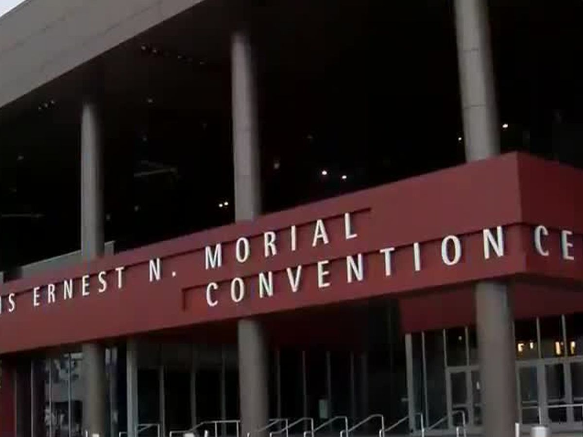 Morial Convention Center hosting first trade show in almost a year