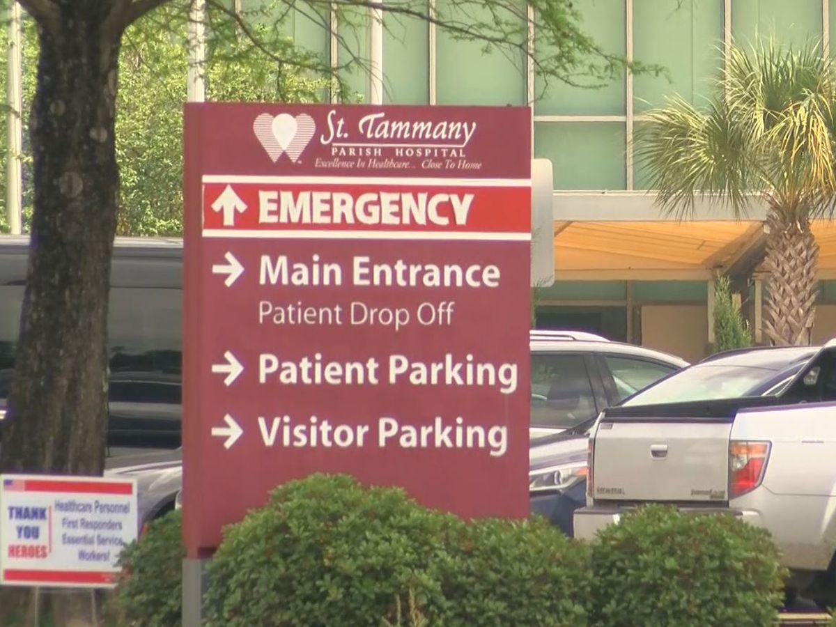 St. Tammany Health System cancels all inpatient elective surgeries due to increase in COVID-19 hospitalizations