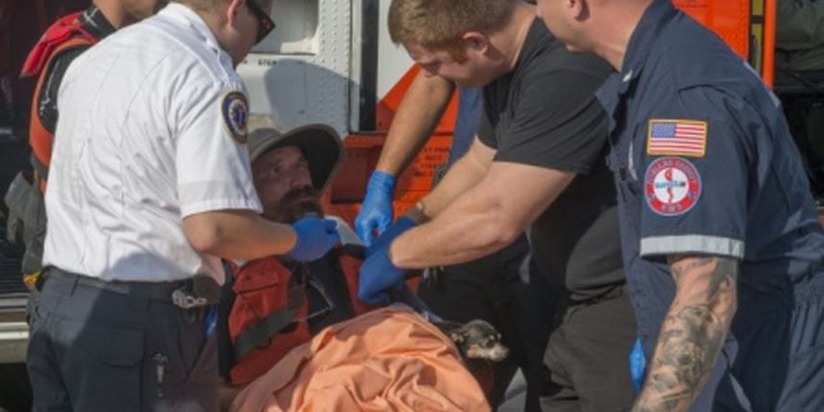 Man, dog rescued from Gulf during NOLA to Tampa sail