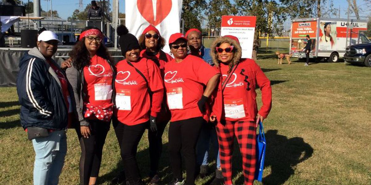 IMAGES: 2019 New Orleans Heart Walk raises more than $400,000