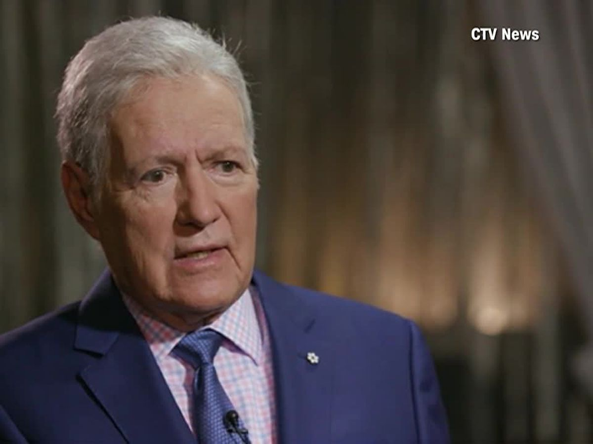 Alex Trebek says he's not afraid to die as he faces stage 4 cancer
