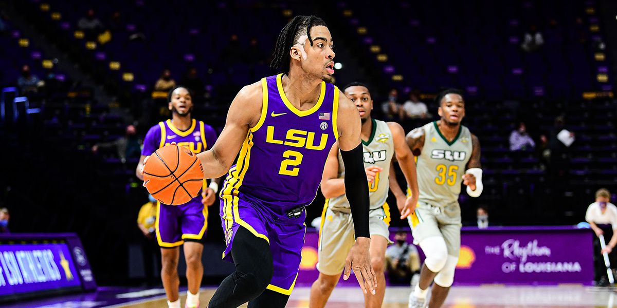 LSU cruises past Southeastern, 96-43, in home opener