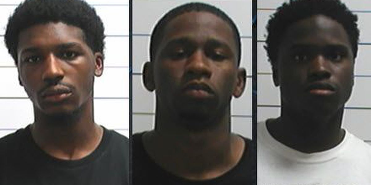 New Orleans police arrest three men for carjacking