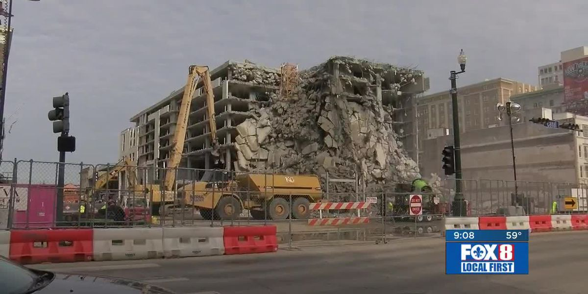 Hard Rock site could be cleared in 3 to 4 weeks