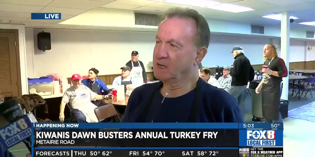 900 turkeys fried for families in need