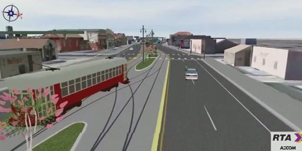 Construction begins on new streetcar line