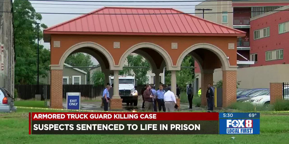Father, son sentenced to life in fatal armed robbery of armored truck driver