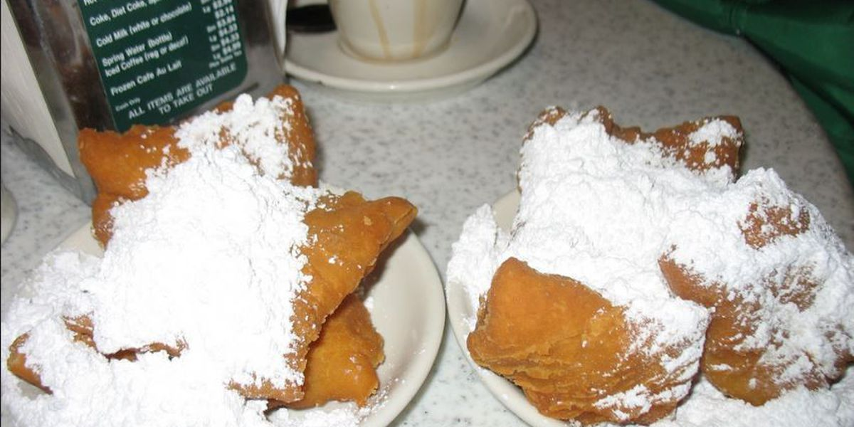 Morning Call out, Cafe du Monde in at City Park