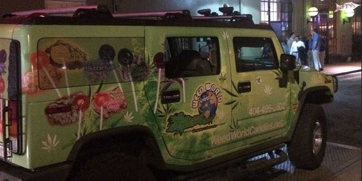 Pair sold 'weed candies' out of French Quarter van without permit, police say