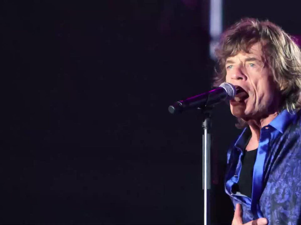 The Rolling Stones set to rock the Superdome