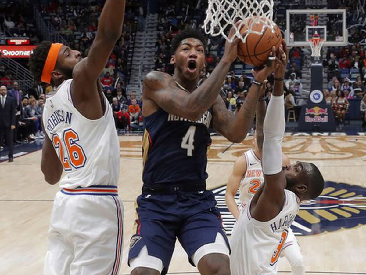 Pelicans beat Knicks, but lose Elfrid Payton to a finger injury