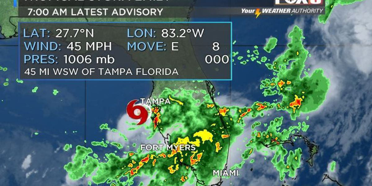 Tropical Storm Emily a 'home grown' storm