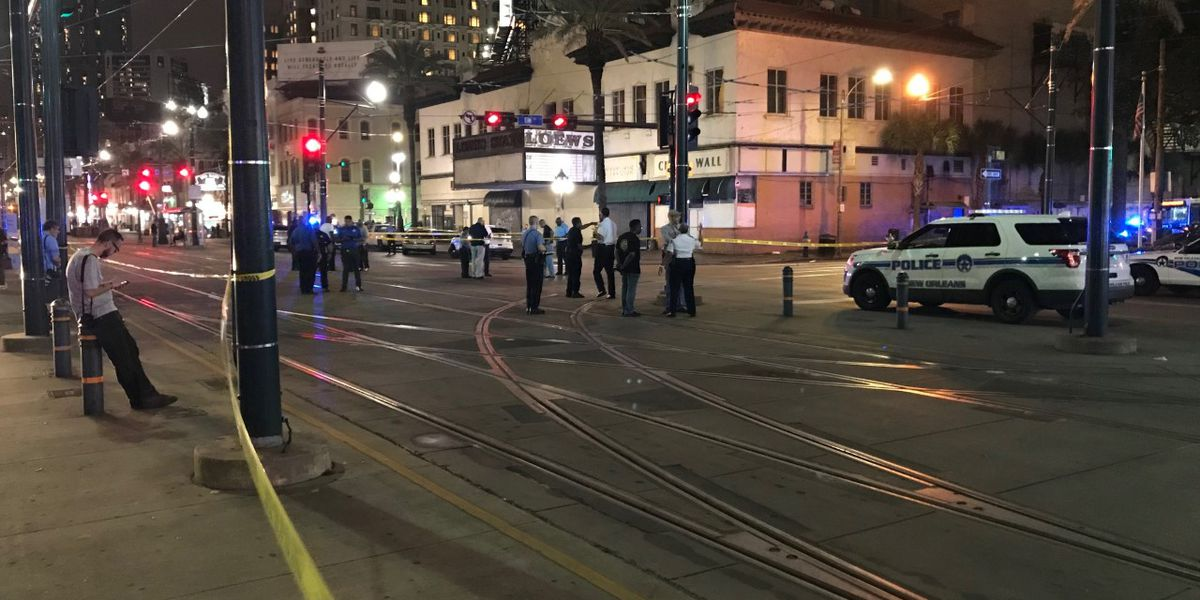 2 victims in Canal Street gun battle remain hospitalized