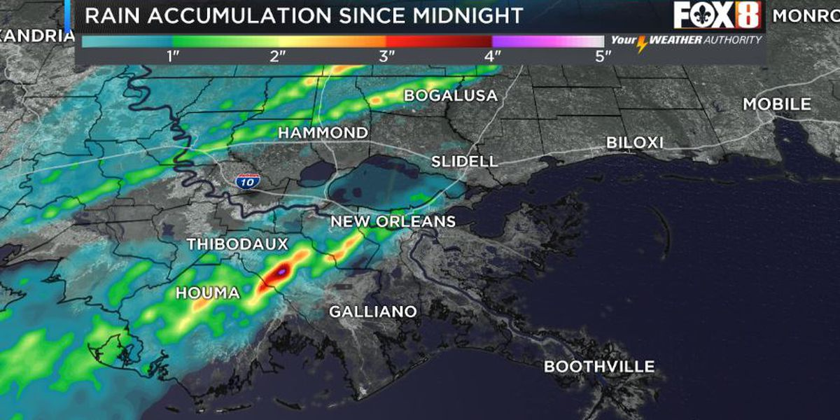 VIDEO: Severe weather impacting the metro area; flooding a possibility