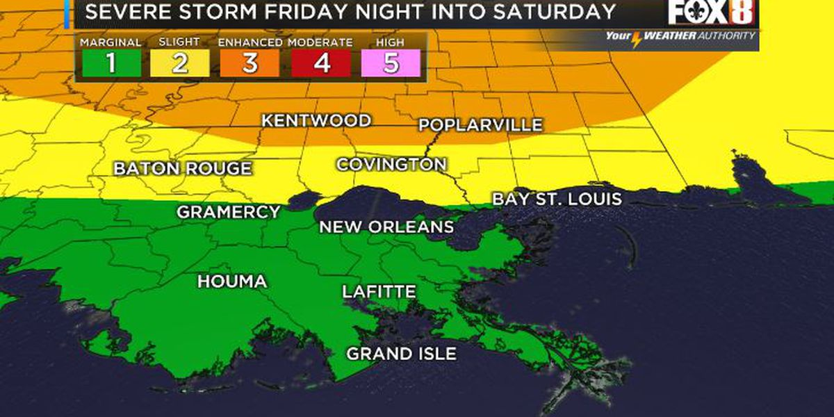 David: More storms by Friday night