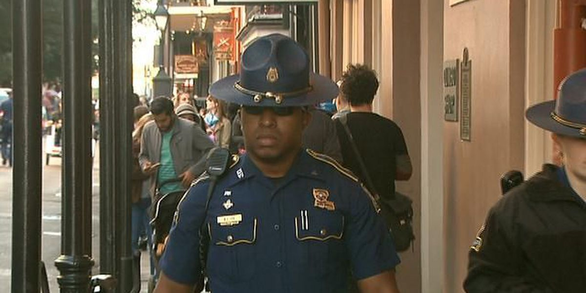 Troopers returning to New Orleans to support NOPD