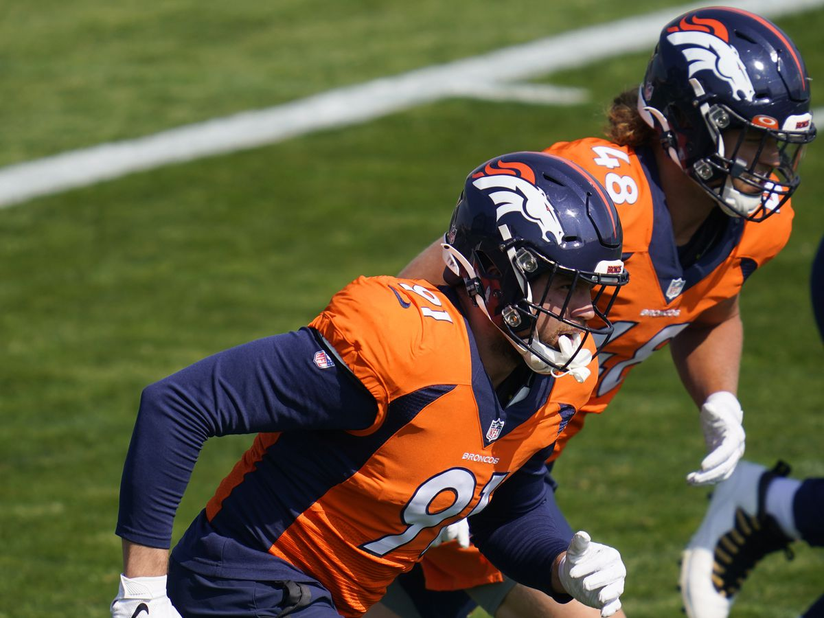 Broncos cancel Friday practice after player and staff member tested positive for virus