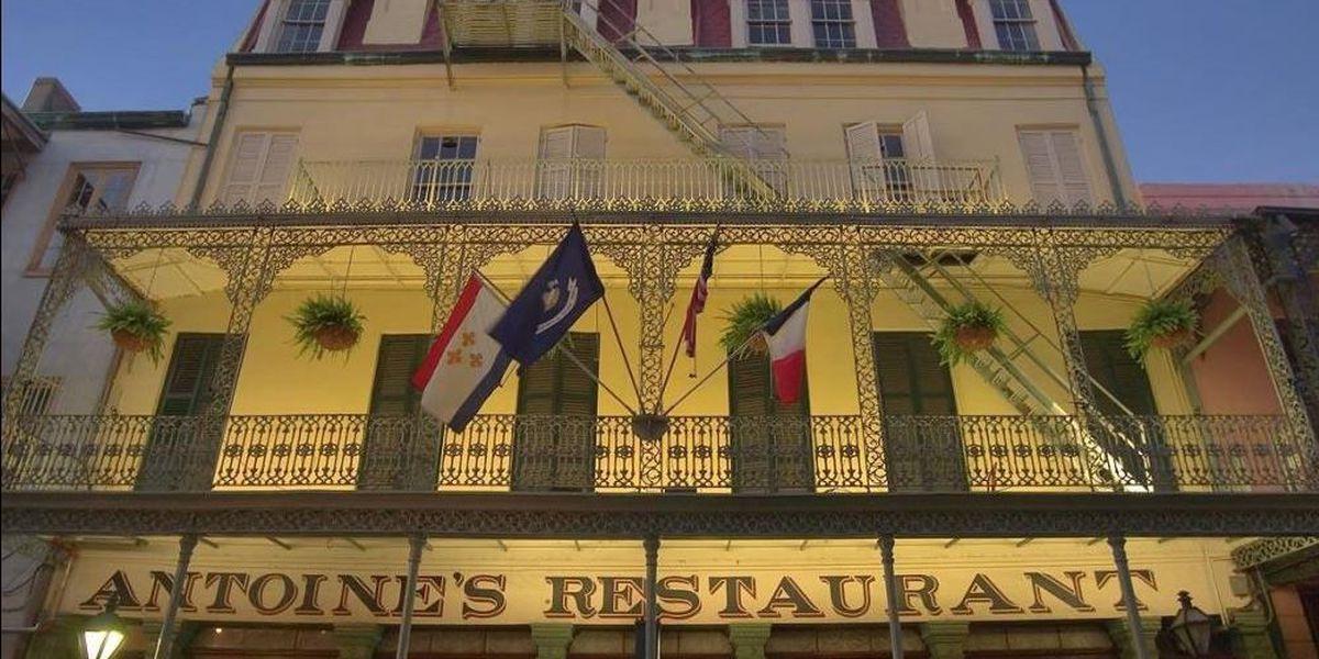 Antoine's Restaurant serves as gallery for Carnival history