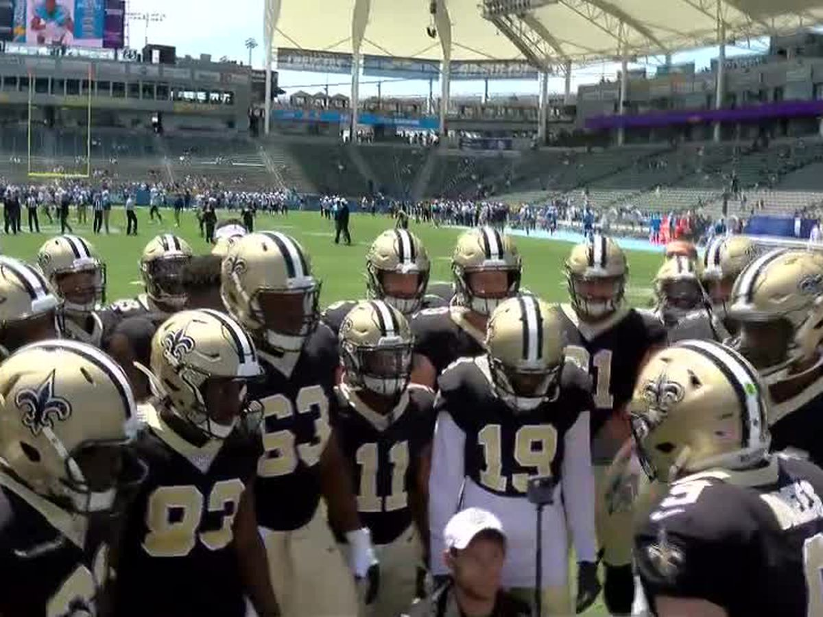 Brees sits, Taysom Hill throws 2 TD's in a Saints win over the Chargers