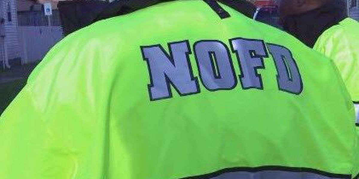 NOFD rescues cement worker trapped in manhole
