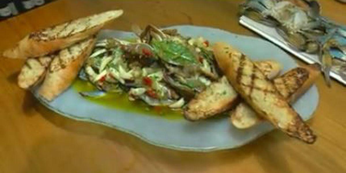 Chef John Folse: Oven-baked garlic crabs