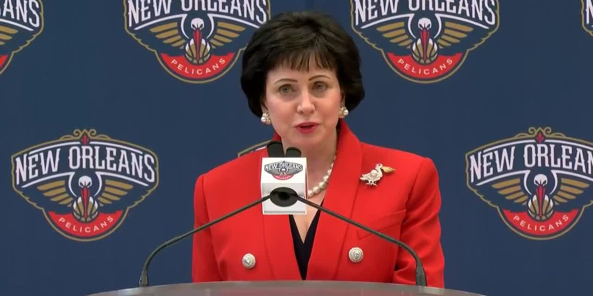 Gayle Benson, Pelicans Owner opening remarks at David Griffin press conference
