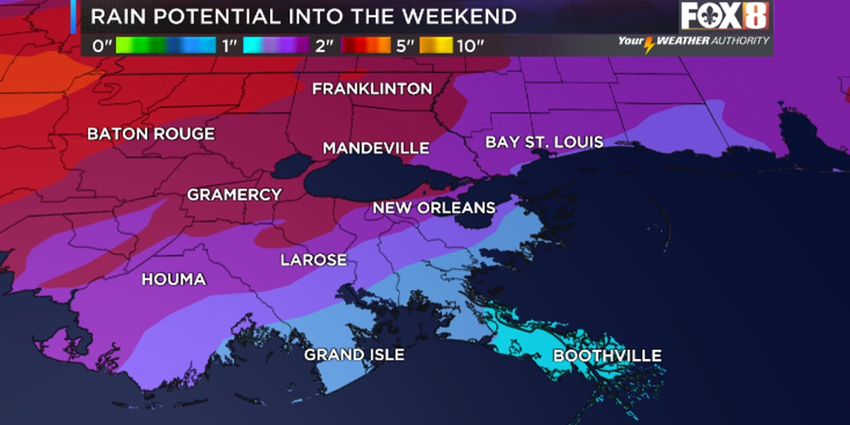 A stormy holiday weekend ahead