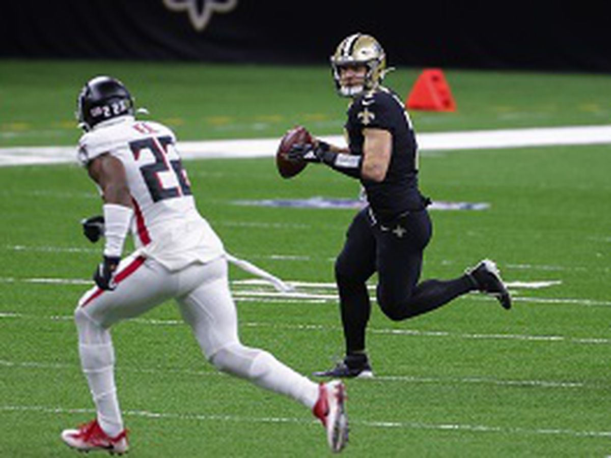 """Taysom Time"" at QB debuts with a win over the Falcons"