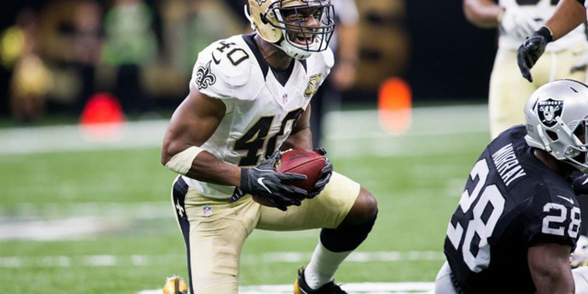 Former Saints CB Delvin Breaux re-signs with Hamilton Tiger-Cats of CFL