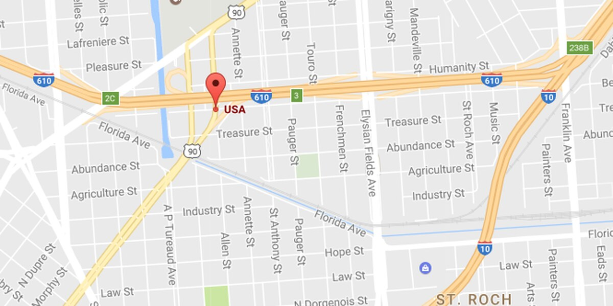 Man killed in single vehicle crash in Seventh Ward