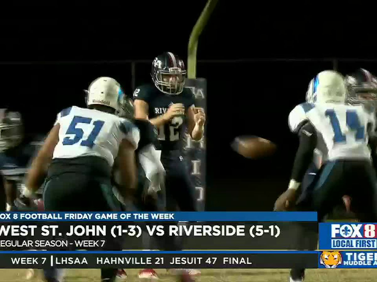 Elijah Davis' 2-point conversion carries Riverside to victory over WSJ
