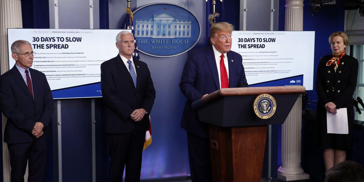 AP-NORC poll: Less than half back Trump's pandemic response