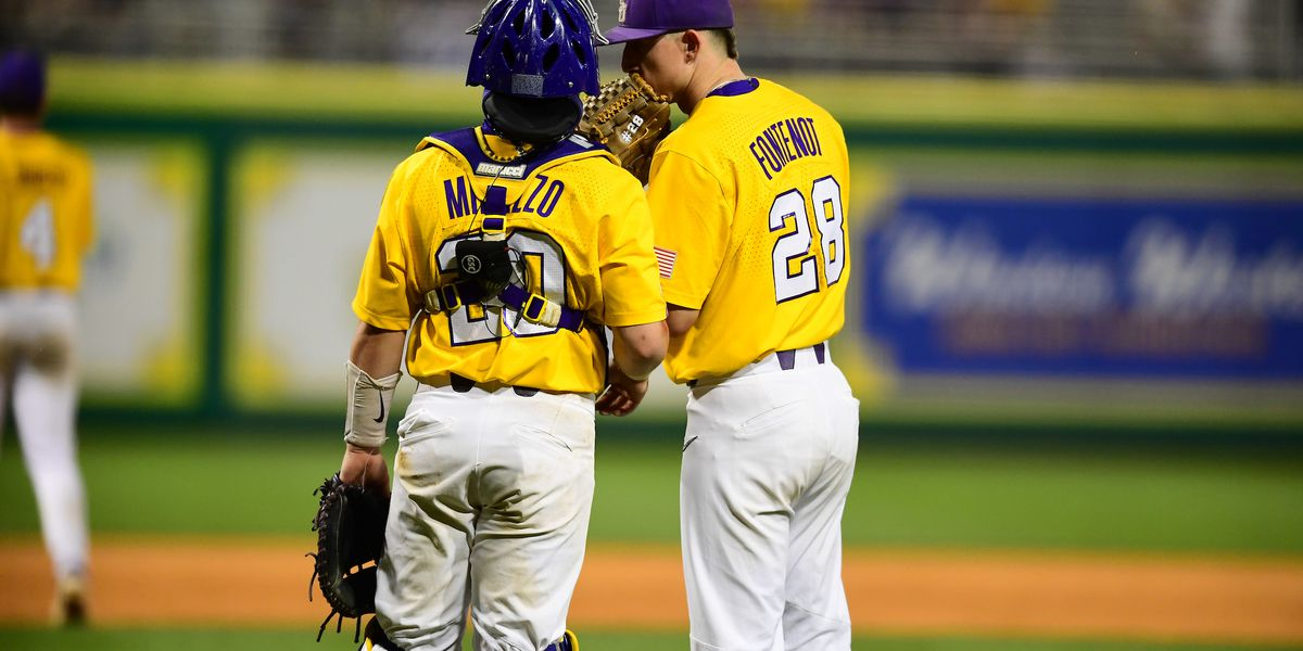 LSU avoids sweep, holds on to win 5-4 over No. 1 Arkansas