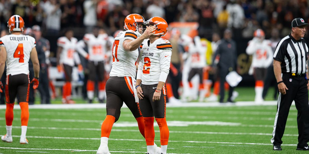 Browns kicker: I let the team down, the city down