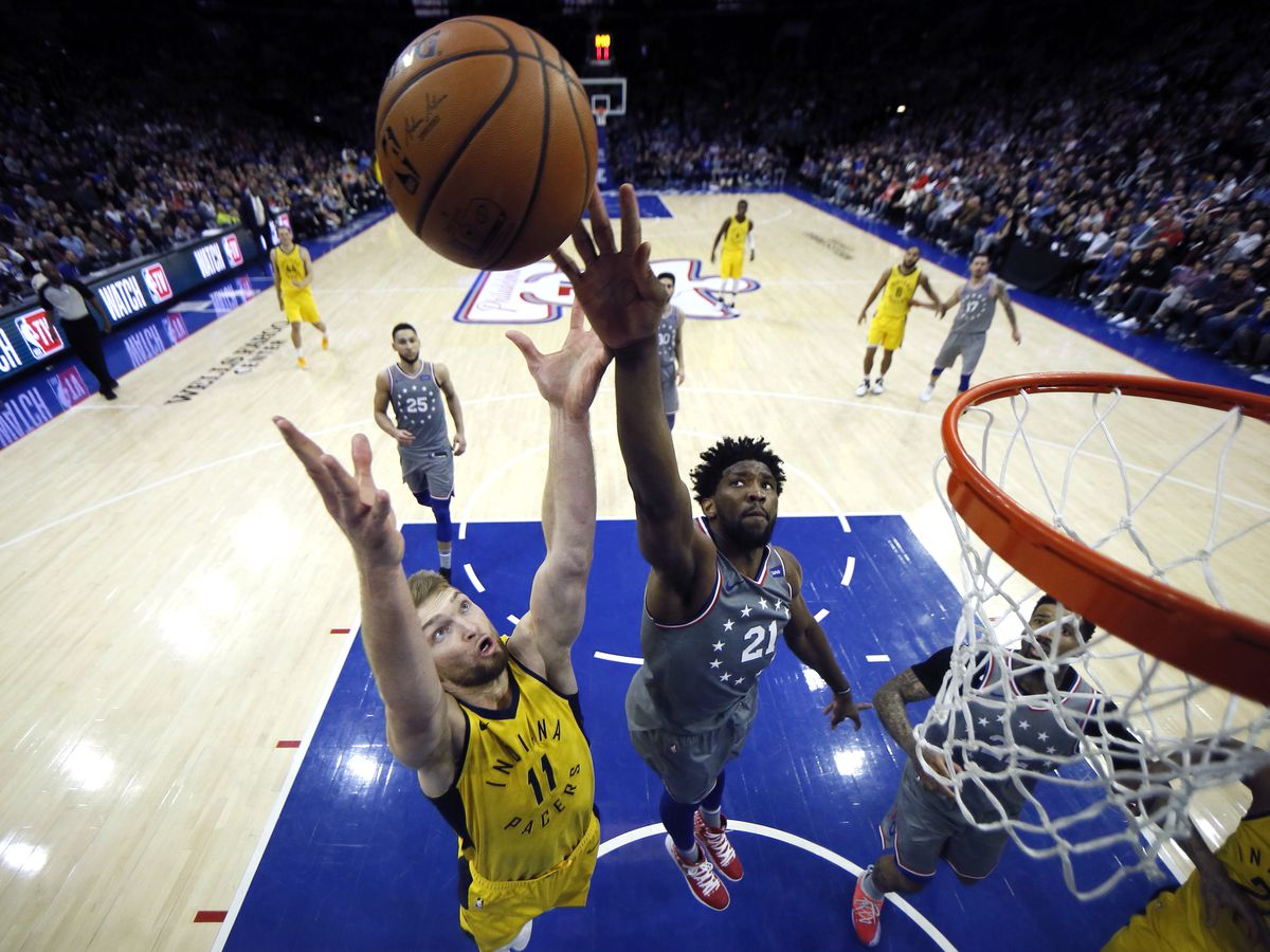 Pacers spoil Embiid's 40-point night, beat Sixers 113-101