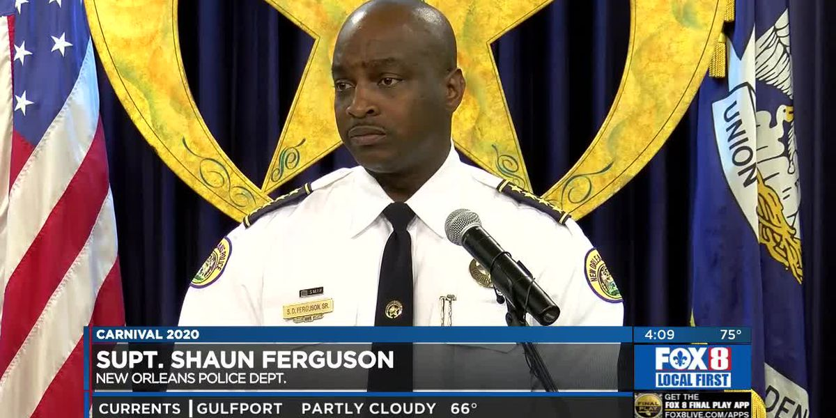 NOPD holds conference for Mardi Gras safety