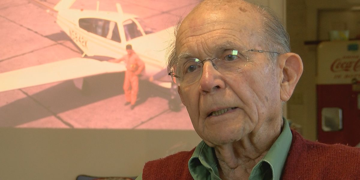 La. man celebrates 50th anniversary of world record flight