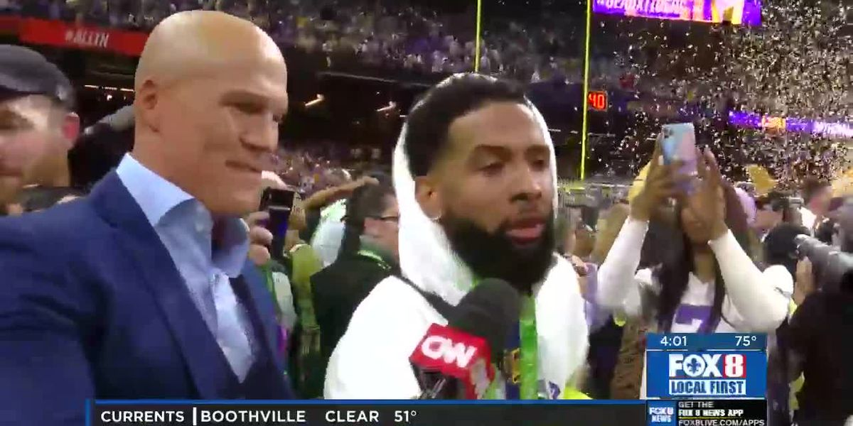 NOPD issues arrest warrant for Odell Beckham, Jr.
