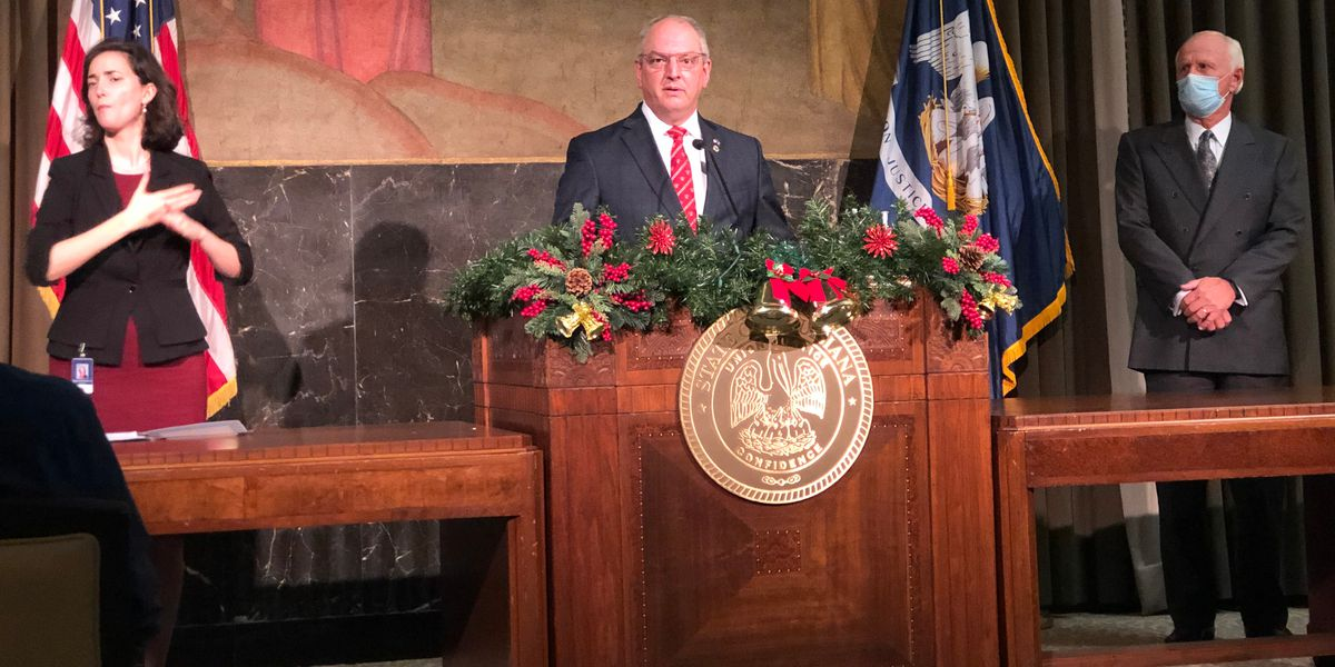 Gov. Edwards outlines who will get vaccine first, as panel recommends use of Pfizer vaccine