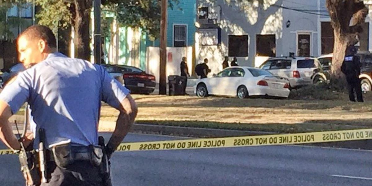 Shooting leads to police chase, SWAT search in Mid-City